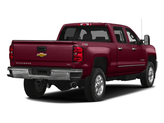 Butte Red Metallic 2016 Chevrolet Silverado 2500HD Pictures Silverado 2500HD Crew Cab LTZ 2WD photos rear view