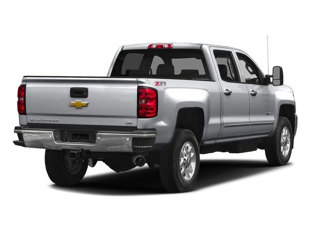 Silver Ice Metallic 2016 Chevrolet Silverado 2500HD Pictures Silverado 2500HD Crew Cab LTZ 2WD photos rear view