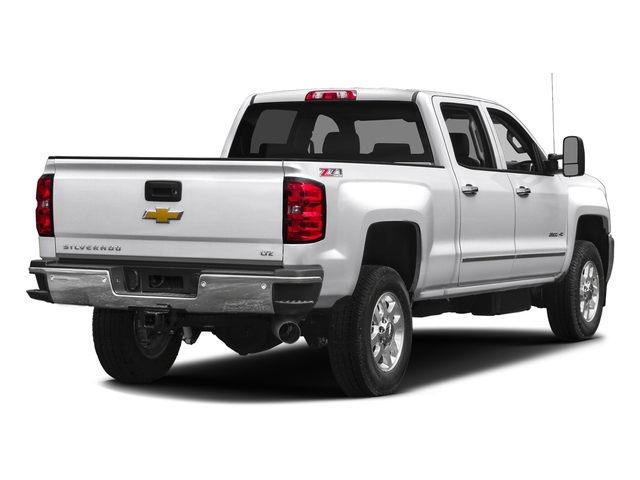Summit White 2016 Chevrolet Silverado 2500HD Pictures Silverado 2500HD Crew Cab LTZ 2WD photos rear view