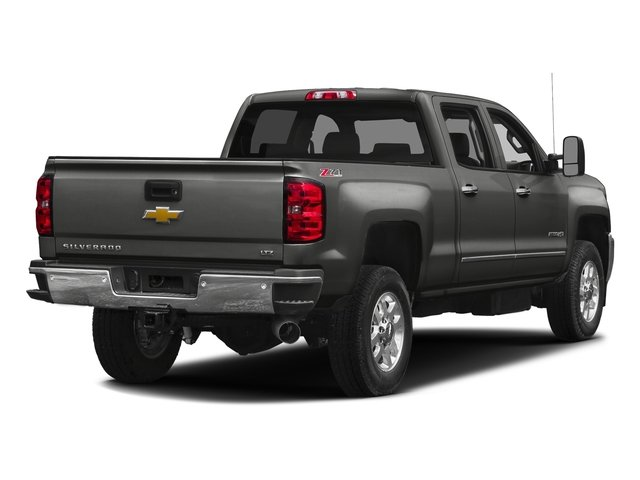 Tungsten Metallic 2016 Chevrolet Silverado 2500HD Pictures Silverado 2500HD Crew Cab LTZ 2WD photos rear view