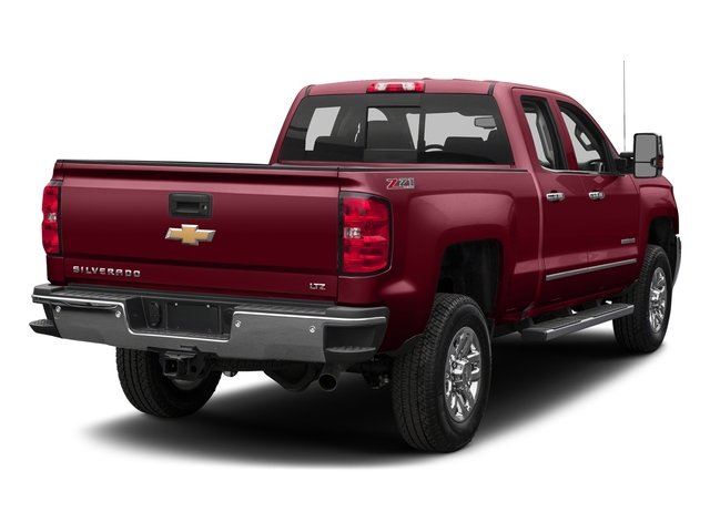 Siren Red Tintcoat 2016 Chevrolet Silverado 2500HD Pictures Silverado 2500HD Extended Cab LTZ 4WD photos rear view