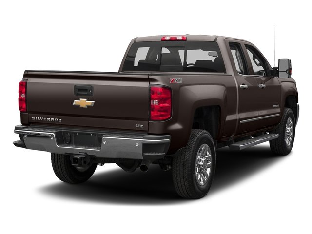 Autumn Bronze Metallic 2016 Chevrolet Silverado 2500HD Pictures Silverado 2500HD Extended Cab LTZ 4WD photos rear view