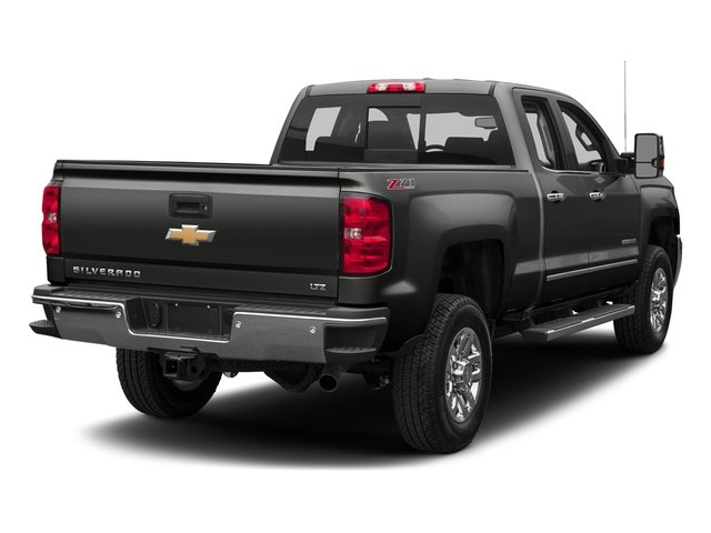 Tungsten Metallic 2016 Chevrolet Silverado 2500HD Pictures Silverado 2500HD Extended Cab LTZ 4WD photos rear view