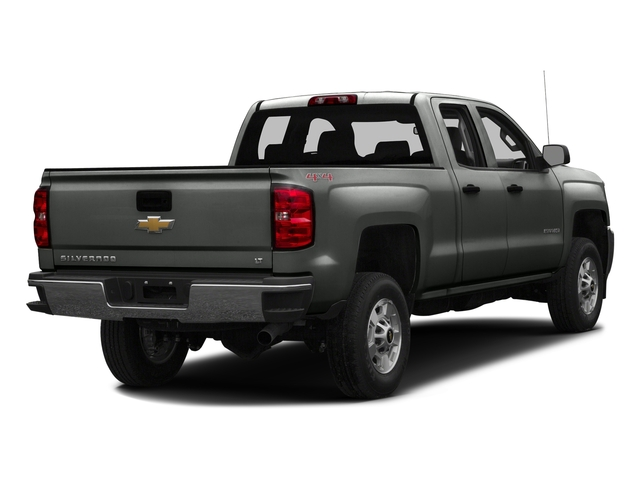 Slate Grey Metallic 2016 Chevrolet Silverado 2500HD Pictures Silverado 2500HD Extended Cab Work Truck 2WD photos rear view