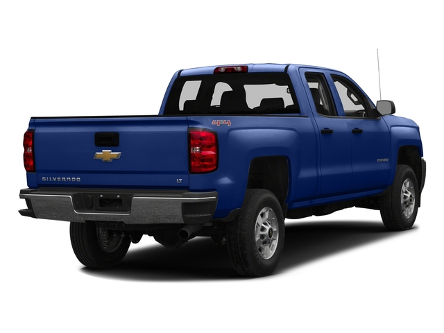 Deep Ocean Blue Metallic 2016 Chevrolet Silverado 2500HD Pictures Silverado 2500HD Extended Cab Work Truck 2WD photos rear view
