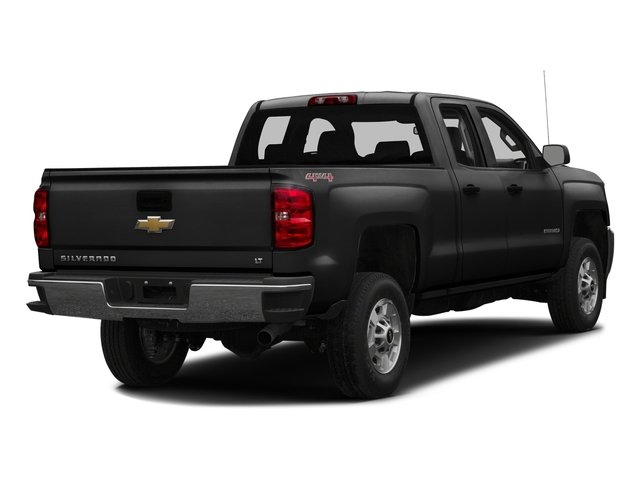 Black 2016 Chevrolet Silverado 2500HD Pictures Silverado 2500HD Extended Cab Work Truck 2WD photos rear view