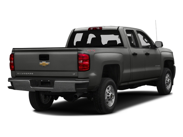 Tungsten Metallic 2016 Chevrolet Silverado 2500HD Pictures Silverado 2500HD Extended Cab Work Truck 2WD photos rear view