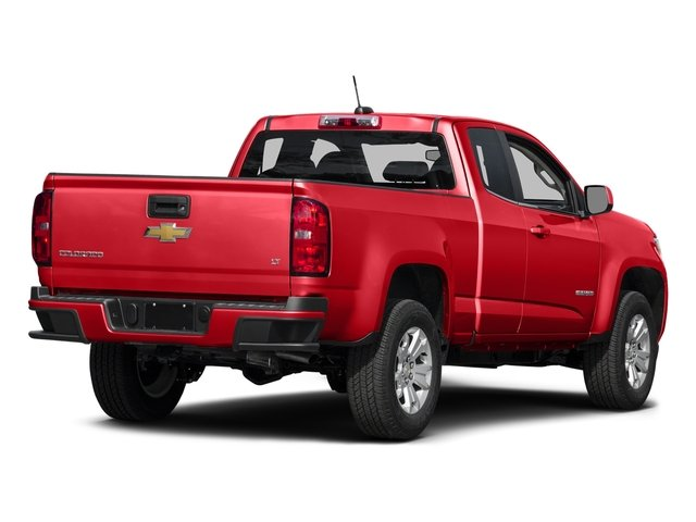 Red Hot 2016 Chevrolet Colorado Pictures Colorado Extended Cab LT 2WD photos rear view