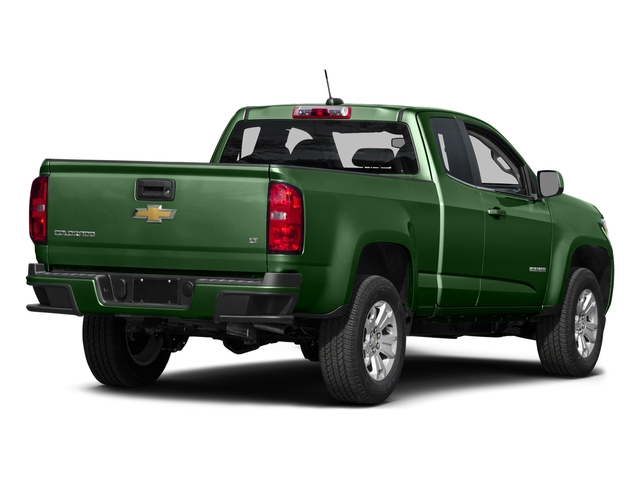 Rainforest Green Metallic 2016 Chevrolet Colorado Pictures Colorado Extended Cab LT 4WD photos rear view