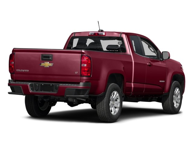 Red Rock Metallic 2016 Chevrolet Colorado Pictures Colorado Extended Cab LT 4WD photos rear view