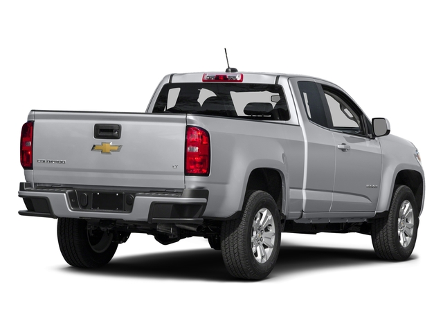 Silver Ice Metallic 2016 Chevrolet Colorado Pictures Colorado Extended Cab LT 4WD photos rear view