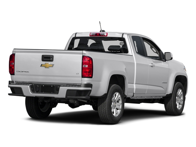 Summit White 2016 Chevrolet Colorado Pictures Colorado Extended Cab LT 4WD photos rear view
