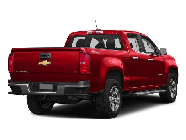 Red Hot 2016 Chevrolet Colorado Pictures Colorado Crew Cab LT 4WD T-Diesel photos rear view
