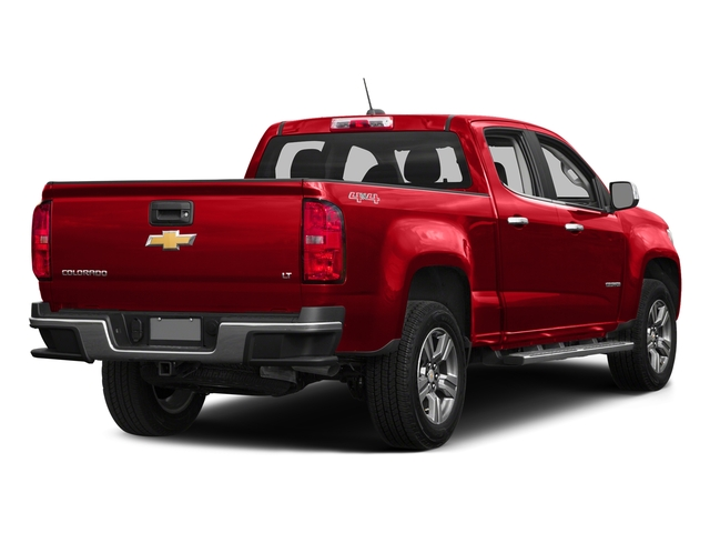 Red Hot 2016 Chevrolet Colorado Pictures Colorado Crew Cab Z71 4WD photos rear view