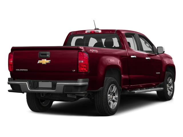 Red Rock Metallic 2016 Chevrolet Colorado Pictures Colorado Crew Cab Z71 4WD photos rear view
