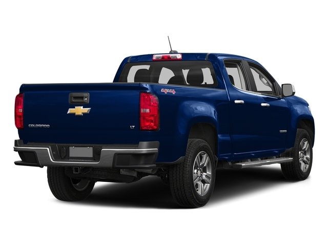 Laser Blue 2016 Chevrolet Colorado Pictures Colorado Crew Cab Z71 4WD photos rear view