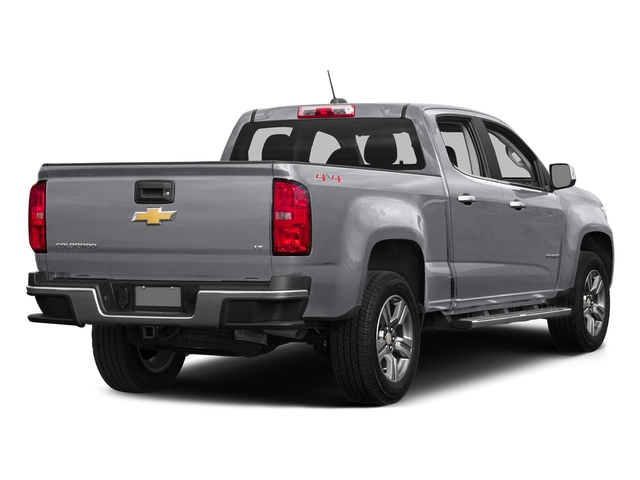 Silver Ice Metallic 2016 Chevrolet Colorado Pictures Colorado Crew Cab LT 4WD T-Diesel photos rear view