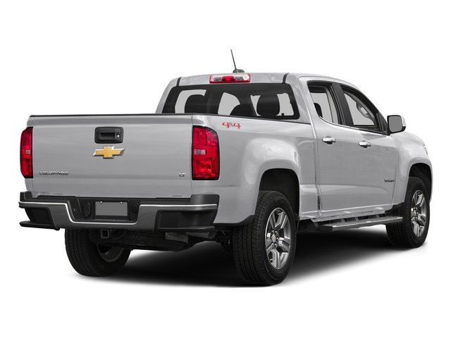 Summit White 2016 Chevrolet Colorado Pictures Colorado Crew Cab LT 4WD T-Diesel photos rear view