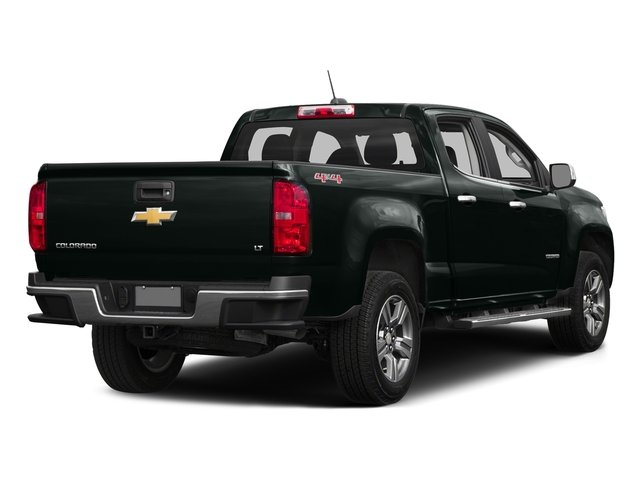 Cyber Gray Metallic 2016 Chevrolet Colorado Pictures Colorado Crew Cab Z71 4WD photos rear view