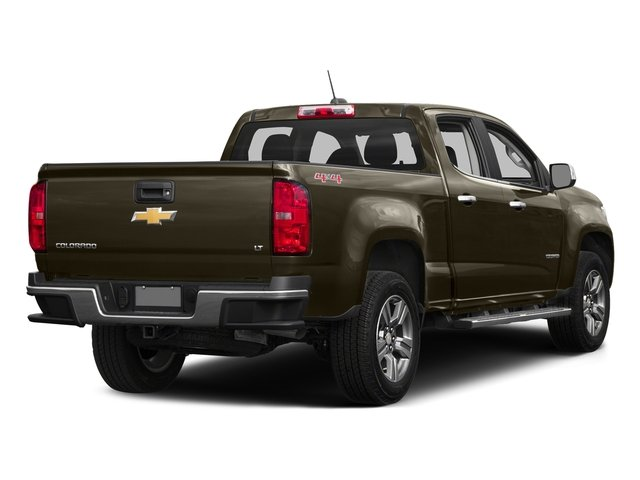 Brownstone Metallic 2016 Chevrolet Colorado Pictures Colorado Crew Cab LT 4WD T-Diesel photos rear view