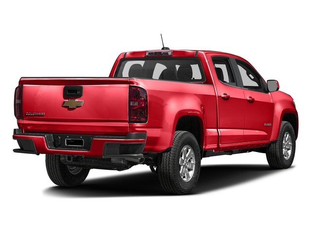 Red Hot 2016 Chevrolet Colorado Pictures Colorado Crew Cab Work Truck 2WD T-Diesel photos rear view
