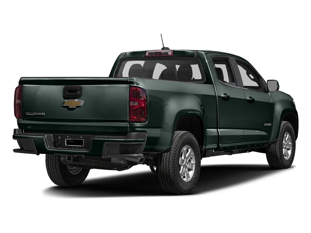 Rainforest Green Metallic 2016 Chevrolet Colorado Pictures Colorado Crew Cab Work Truck 2WD T-Diesel photos rear view