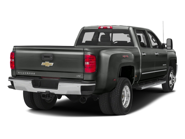 Slate Grey Metallic 2016 Chevrolet Silverado 3500HD Pictures Silverado 3500HD Crew Cab Work Truck 4WD photos rear view
