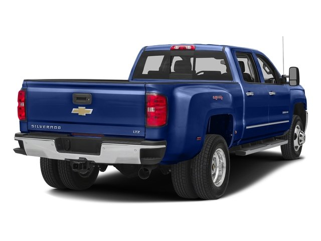 Deep Ocean Blue Metallic 2016 Chevrolet Silverado 3500HD Pictures Silverado 3500HD Crew Cab Work Truck 4WD photos rear view