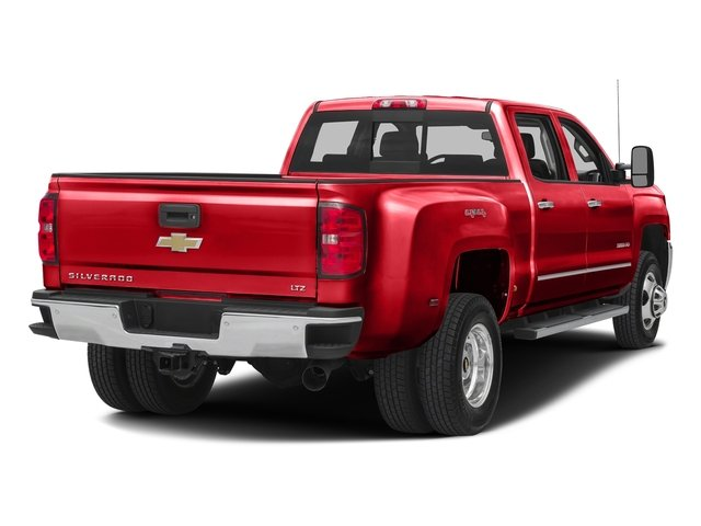 Red Hot 2016 Chevrolet Silverado 3500HD Pictures Silverado 3500HD Crew Cab Work Truck 2WD photos rear view