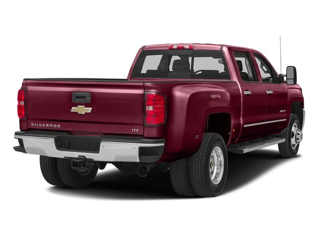 Butte Red Metallic 2016 Chevrolet Silverado 3500HD Pictures Silverado 3500HD Crew Cab Work Truck 2WD photos rear view