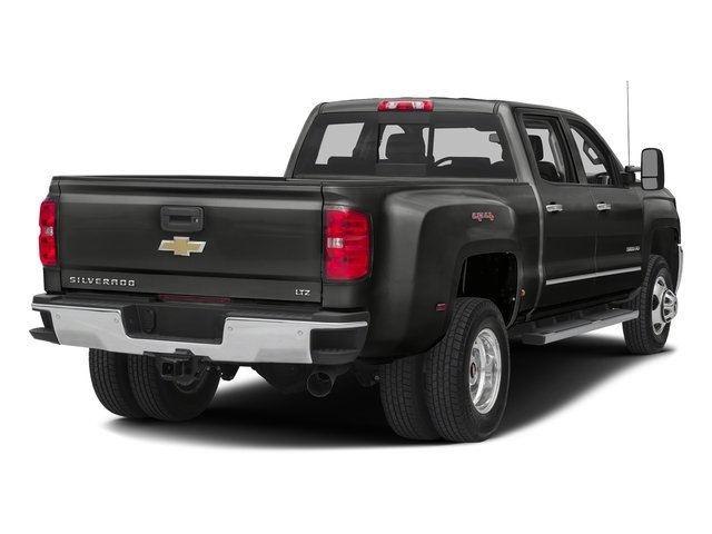 Tungsten Metallic 2016 Chevrolet Silverado 3500HD Pictures Silverado 3500HD Crew Cab Work Truck 4WD photos rear view