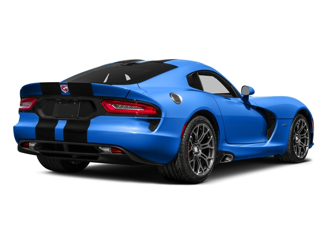 Competition Blue 2016 Dodge Viper Pictures Viper 2 Door Coupe photos rear view