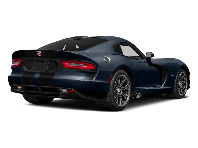 GTS-R Blue Pearlcoat 2016 Dodge Viper Pictures Viper 2 Door Coupe photos rear view