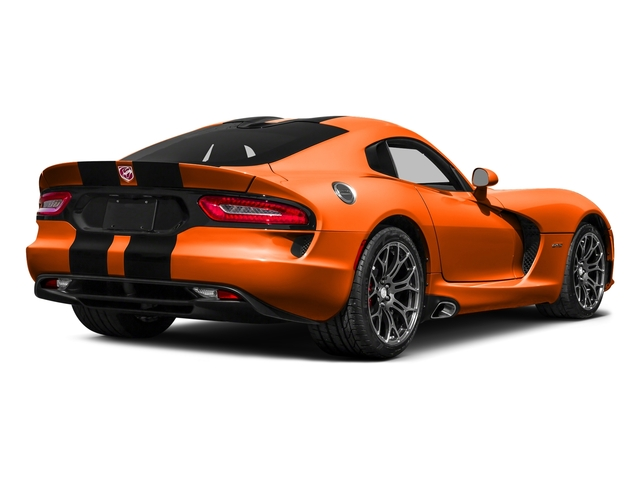 Stryker Orange Tri-Coat Pearl 2016 Dodge Viper Pictures Viper 2 Door Coupe photos rear view