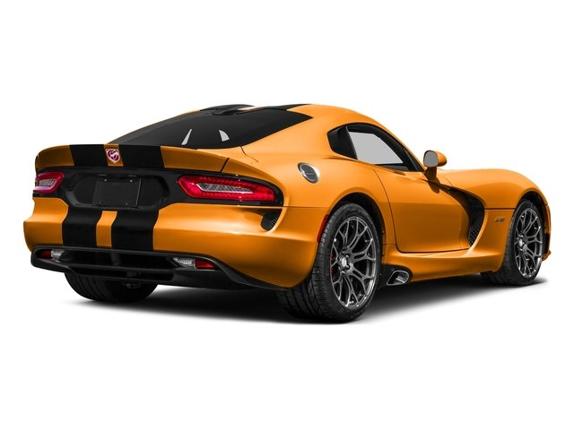 Yorange Clearcoat 2016 Dodge Viper Pictures Viper 2 Door Coupe photos rear view