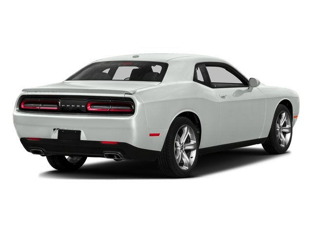 Bright White Clearcoat 2016 Dodge Challenger Pictures Challenger Coupe 2D SXT V6 photos rear view