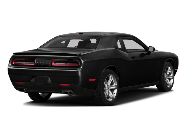 Pitch Black Clearcoat 2016 Dodge Challenger Pictures Challenger Coupe 2D SXT V6 photos rear view