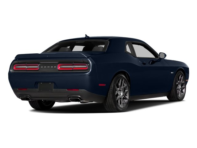 Jazz Blue Pearlcoat 2016 Dodge Challenger Pictures Challenger Coupe 2D R/T Plus V8 photos rear view
