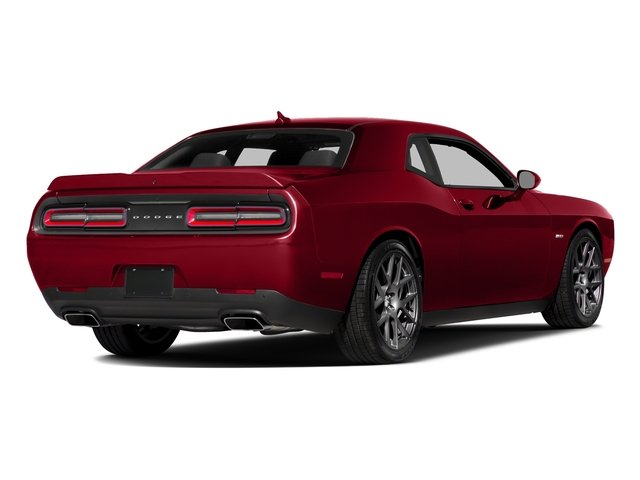 Redline Red Tricoat Pearl 2016 Dodge Challenger Pictures Challenger Coupe 2D R/T Plus V8 photos rear view