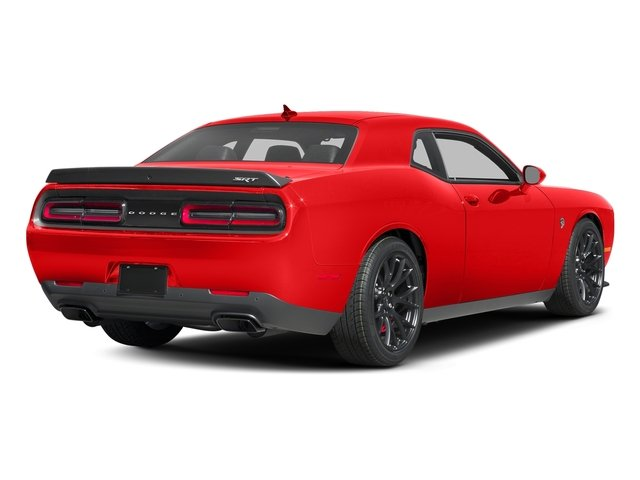 Go Mango 2016 Dodge Challenger Pictures Challenger Coupe 2D SRT Hellcat V8 Supercharged photos rear view