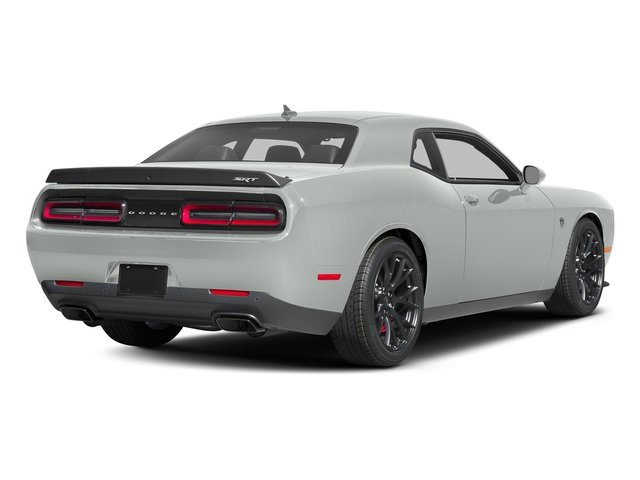 Bright White Clearcoat 2016 Dodge Challenger Pictures Challenger Coupe 2D SRT Hellcat V8 Supercharged photos rear view