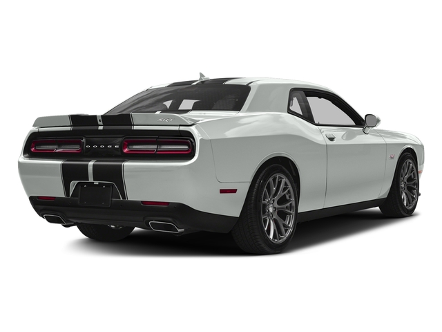 Bright White Clearcoat 2016 Dodge Challenger Pictures Challenger Coupe 2D SRT 392 V8 photos rear view
