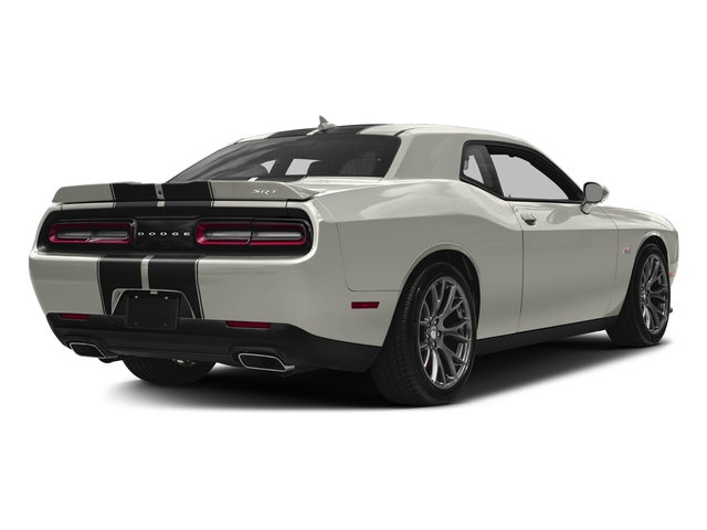 Ivory White Tri-Coat Pearl 2016 Dodge Challenger Pictures Challenger Coupe 2D SRT 392 V8 photos rear view