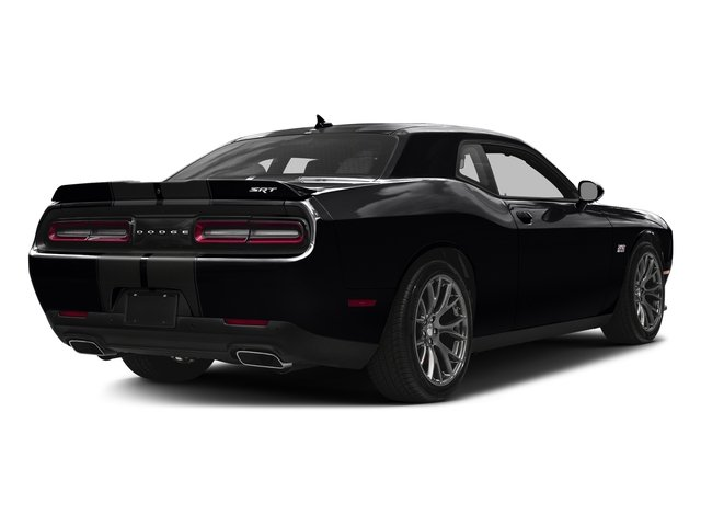 Pitch Black Clearcoat 2016 Dodge Challenger Pictures Challenger Coupe 2D SRT 392 V8 photos rear view