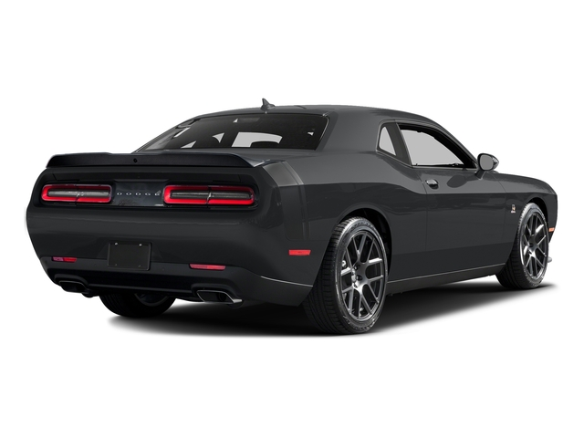 Granite Pearlcoat 2016 Dodge Challenger Pictures Challenger Coupe 2D R/T Scat Pack V8 photos rear view