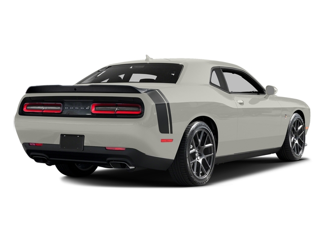 Ivory White Tri-Coat Pearl 2016 Dodge Challenger Pictures Challenger Coupe 2D R/T Scat Pack V8 photos rear view
