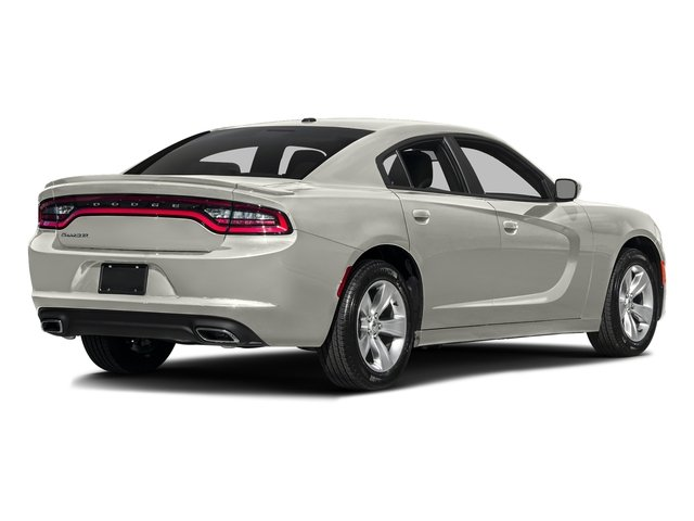 Ivory Tri-Coat Pearl 2016 Dodge Charger Pictures Charger Sedan 4D SE AWD V6 photos rear view