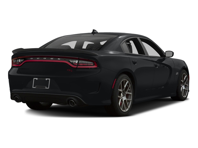 Granite Pearlcoat 2016 Dodge Charger Pictures Charger Sedan 4D R/T Scat Pack V8 photos rear view