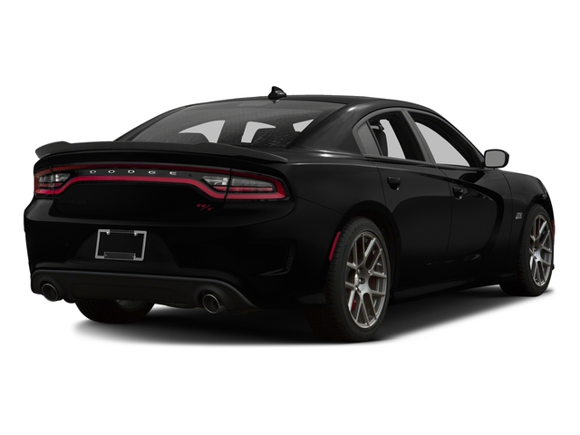 Pitch Black Clearcoat 2016 Dodge Charger Pictures Charger Sedan 4D R/T Scat Pack V8 photos rear view
