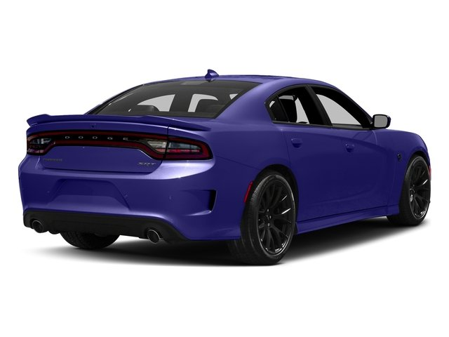Plum Crazy Pearlcoat 2016 Dodge Charger Pictures Charger Sedan 4D SRT Hellcat V8 Supercharged photos rear view